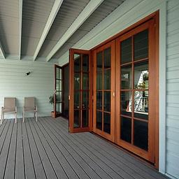Will eventually get beautiful big bi-fold doors for the new outdoor alfresco area.