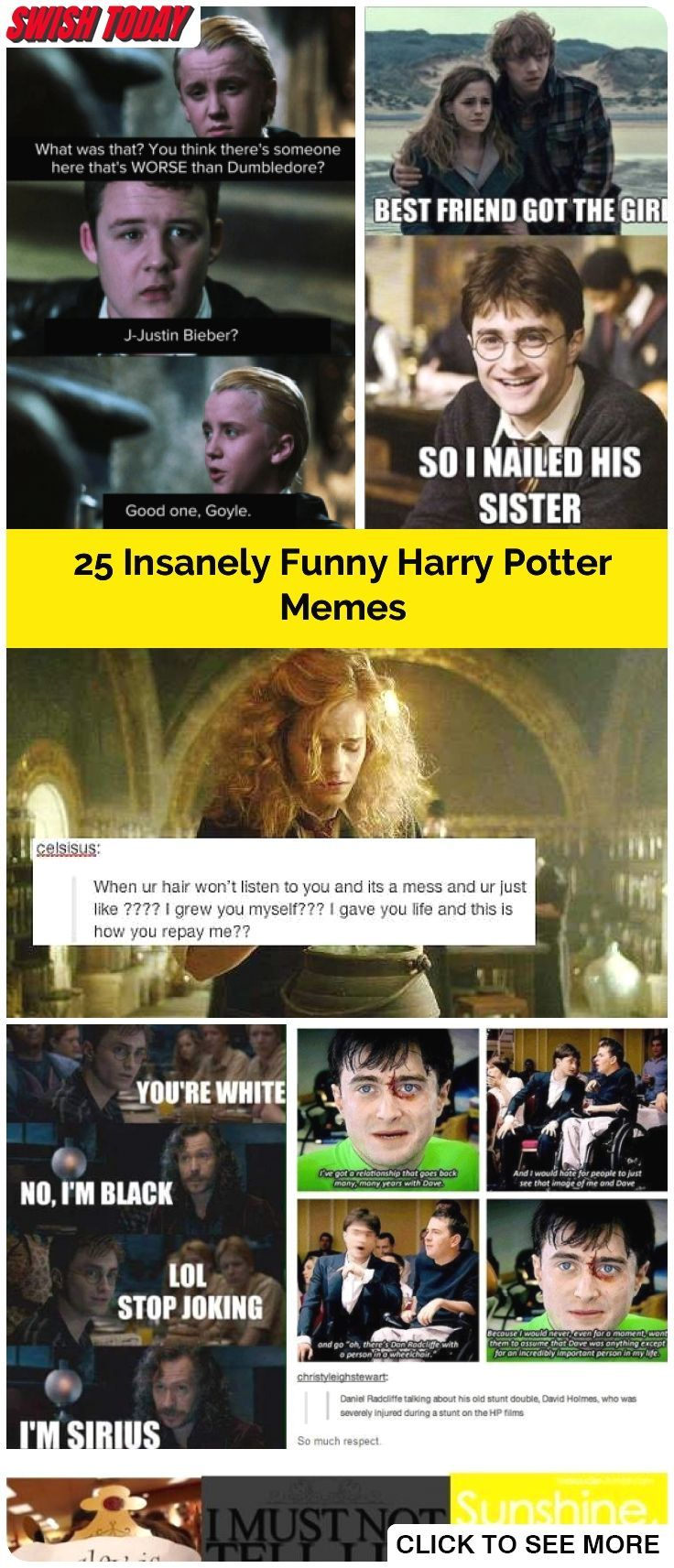 Insanely Funny Harry Potter Memes Will Knock You Down From A Broom Ride Harrypotter Memes Harry Potter Memes Hilarious Harry Potter Funny Harry Potter Memes