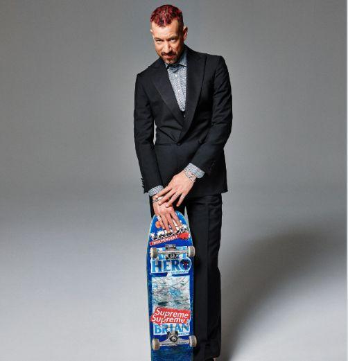 Pro-skateboarder Brian Anderson