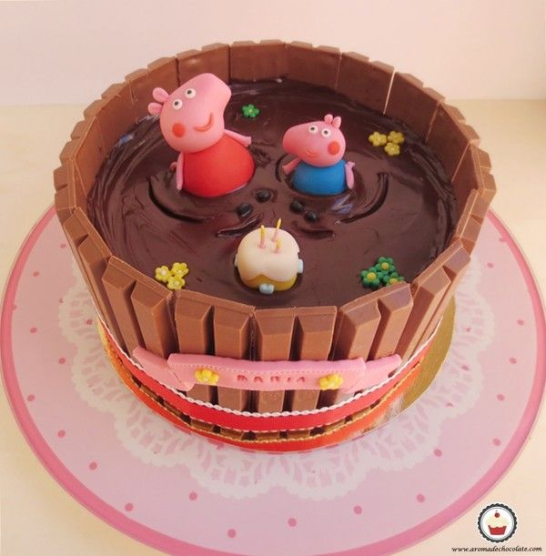 Peppa Pig Birthday Cake   Peppa Pig Party Ideas