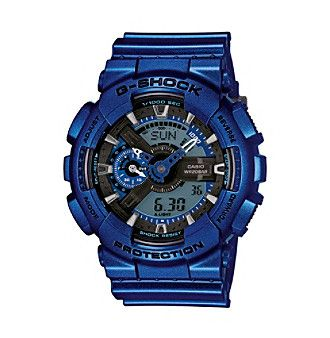 G-Shock Men's Blue Metallic Ana-Digi Watch