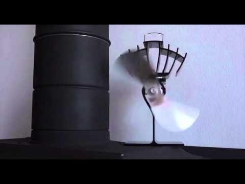 Distribuye el calor de la estufa potenciando la sensación térmica. Funciona sin electricidad. Convierte la energía térmica en electricidad por lo que no nece...