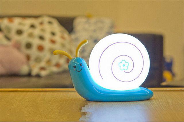 Новый детские спальни ночники улитка мультфильм мебель ночники ночной огни фонарик ( 2 А ) купить на AliExpress