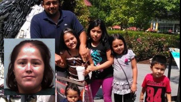 Dad, 4 young kids cops say mother stabbed to death identified