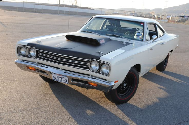 1969 A12 Road Runner - Rare Alpine White