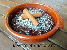 pa mojar pan!: Risotto de chocolate