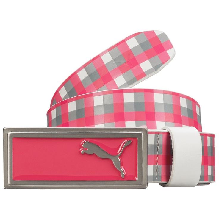 Very cute Puma belt for golf!