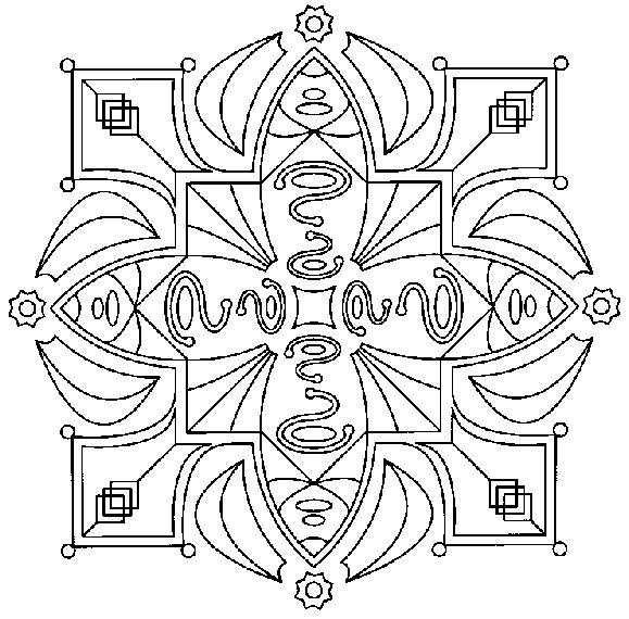 mandala_213 Free coloring pages for adult and teens