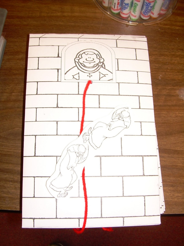 31 best images about bible rahab on pinterest scarlet for Spy crafts for kids