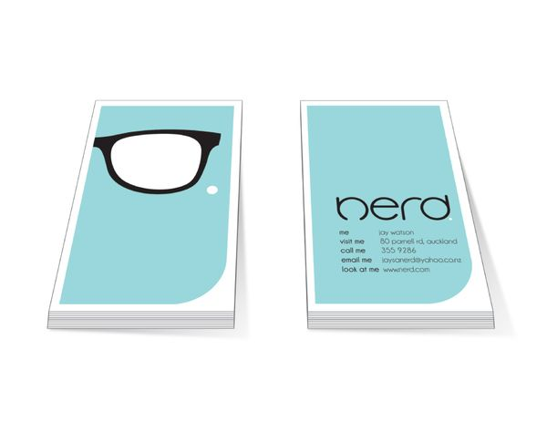 Nerd Branding by Jay Watson, via Behance