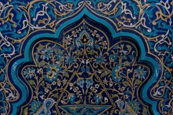 Islamic tiled pattern - to die for!