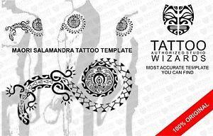 ... UNIQUE-Shoulder-Chest-Maori-Polynesian-Tribal-TATTOO-Stencil-Template