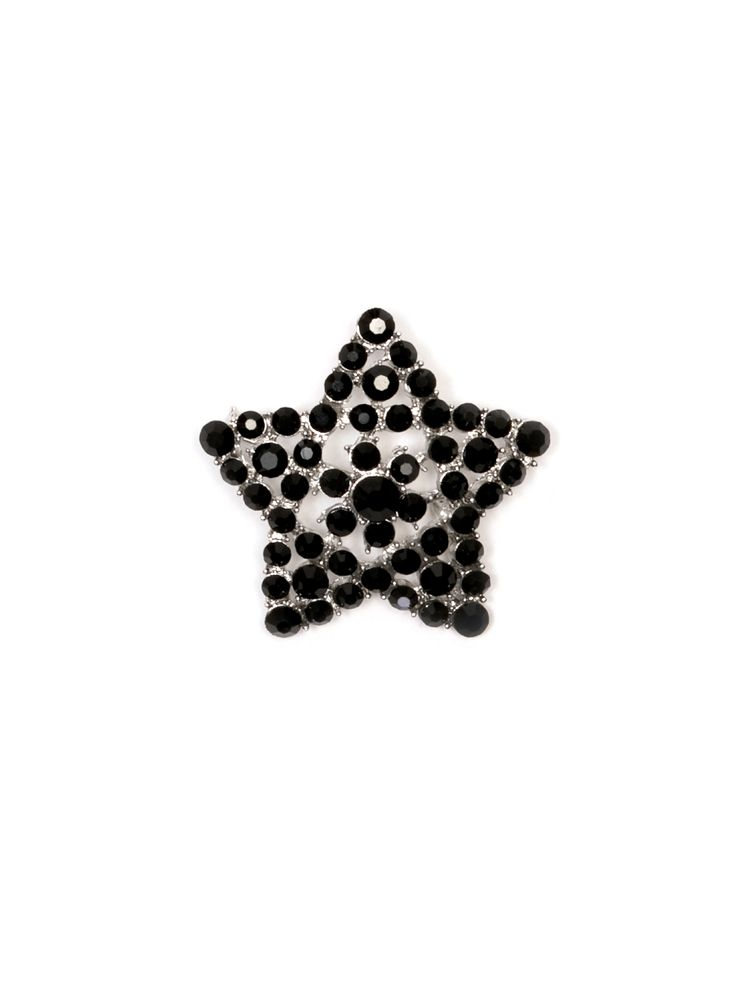 All That Glitters Brooch | Black | Accessories