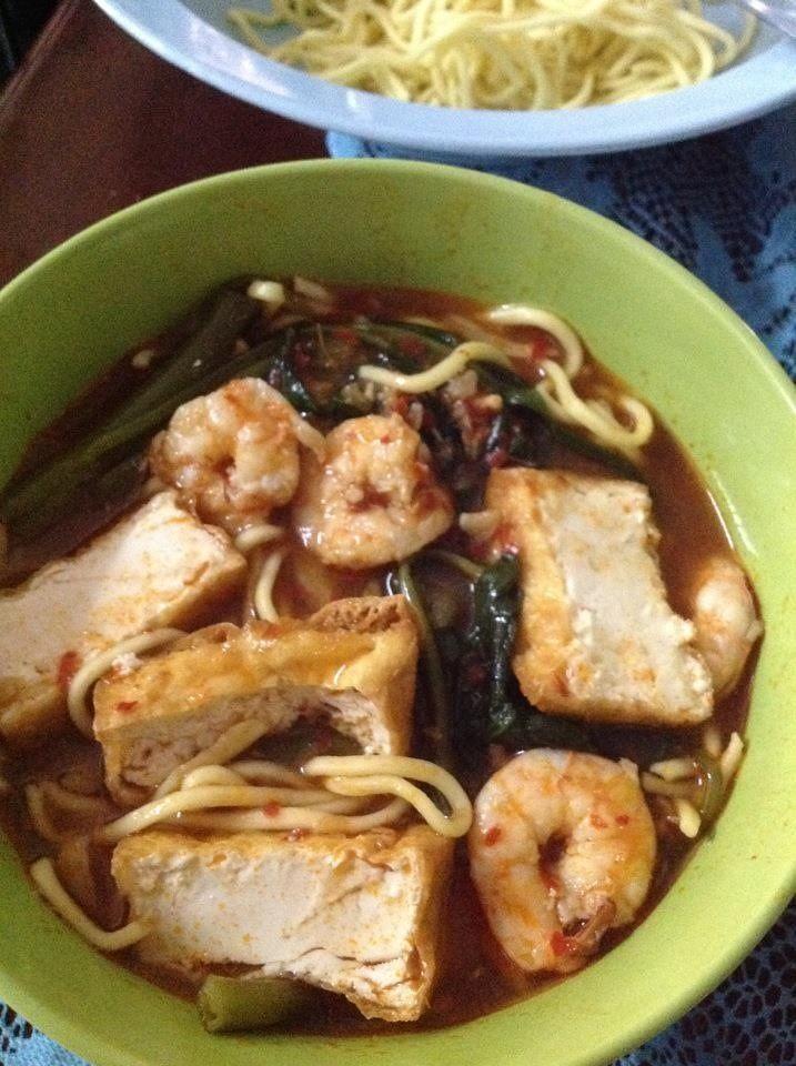 Mee sup Udang