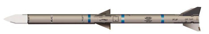 https://flic.kr/p/ciciTC | AIM-120A/B/C Advanced Medium-Range Air-to-Air Missile (AMRAAM) | AIM-120A/B/C Advanced Medium-Range Air-to-Air Missile (AMRAAM) Primary function: Medium-range, air-to-air tactical missile. Dimensions: Length 12 ft.; diameter 7 in.; wingspan AIM-120A/B, 1 ft. 9 in.; AIM-120C, 1 ft. 5 in.