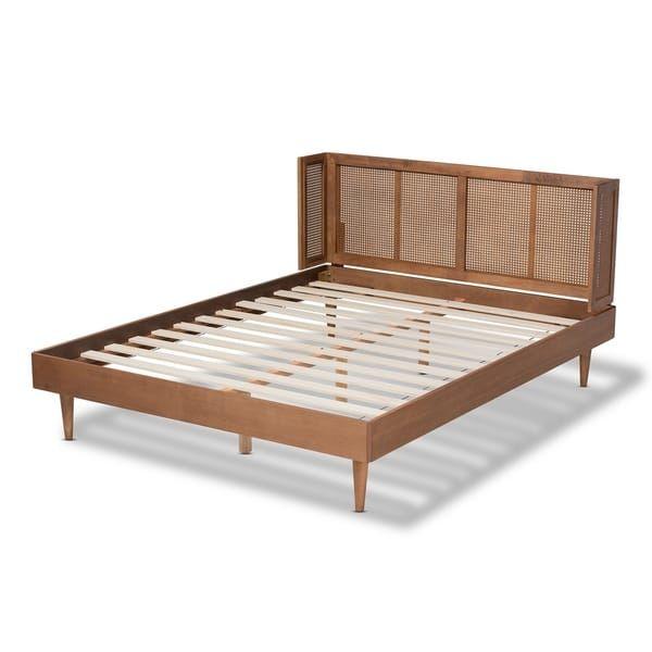 Carson Carrington Dagas Mid Century Modern Platform Bed Mid