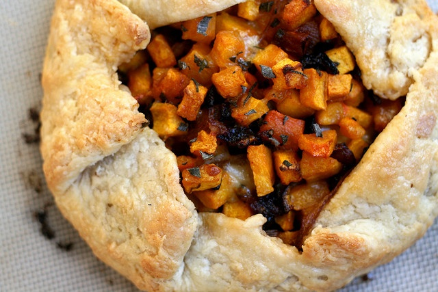 Butternut Squash & Caramelized Onion Galette by kristin ...