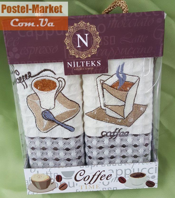 Набор полотенец 35х50 Coffee Nilteks . Купить Набор полотенец 35х50 Coffee Nilteks в интернет магазине Постель маркет (Киев, Украина)
