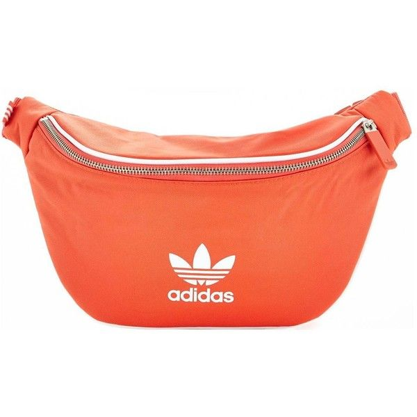 10c63f6ced6 Adidas Originals Adicolor Waist Bag ($28) ❤ liked on Polyvore featuring bags,  waist bag, bum bag, adidas originals bag, red fanny pack and fanny bag