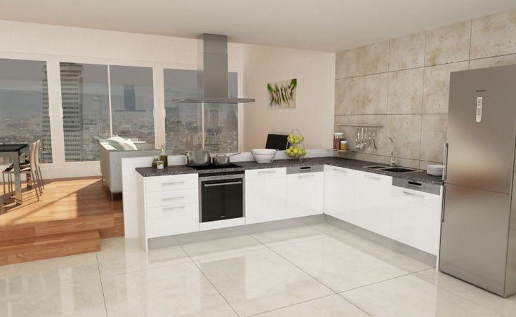 Mejores 12 im genes de cocinas montadas en pinterest - Ver cocinas montadas ...