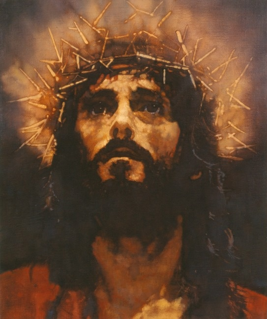 Christ was sacrificed once to take away the sins of many people; and He will appear a second time, not to bear sin, but to bring salvation to those who are waiting for Him.  Hebrews 9:28   (Artist Michael Dudash)