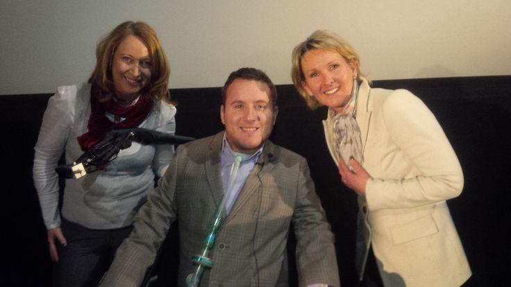 Matt King OBE, Claire Duncan et moi