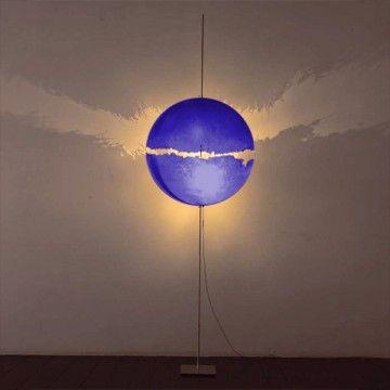 PostKrisi 0064 Floor Lamp - Red