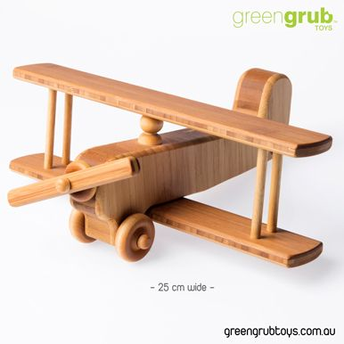 Wooden Toy Plane for creative children.