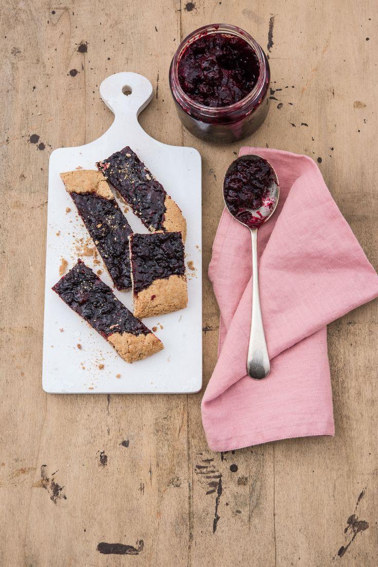 jam tart, crostata veloce alla marmellata, biologica, integrale e con quinoa. #jam #crostata #tart #organic #quinoa