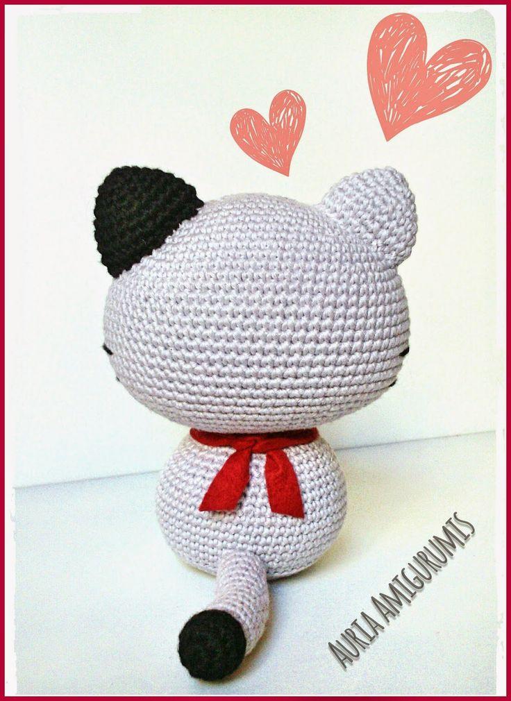 99 best gatos amigurumi images on Pinterest | Gatos de ganchillo ...