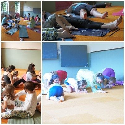 Yoga con famiglie