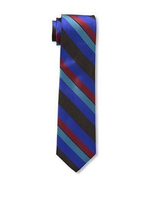 55% OFF Ben Sherman Men's Wide Stripe Tie, Cobalt