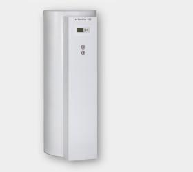 Stehender, innenbeheizter Speicher-Wassererwärmer aus Stahl, mit Ceraprotect-Emaillierung.  Mit zwei Heizwendeln, über den unteren Wärmetauscher erfolgt die Beheizung durch die Sonnenkollektoren, über den oberen erfolgt bei Bedarf eine Nachheizung durch den Heizkessel. Mit Solar-Divicon (mit drehzahlgeregelter Hocheffizienz-Umwälzpumpe entsprechend Energie Label A), integrierter Verrohrung und Solarregelungsmodul, Typ SM1 oder Vitosolic 100, Typ SD1.  www.bierther.com