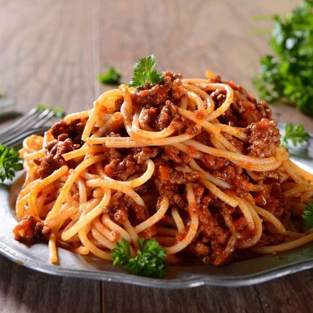 Spaghettis bolognaise rapides