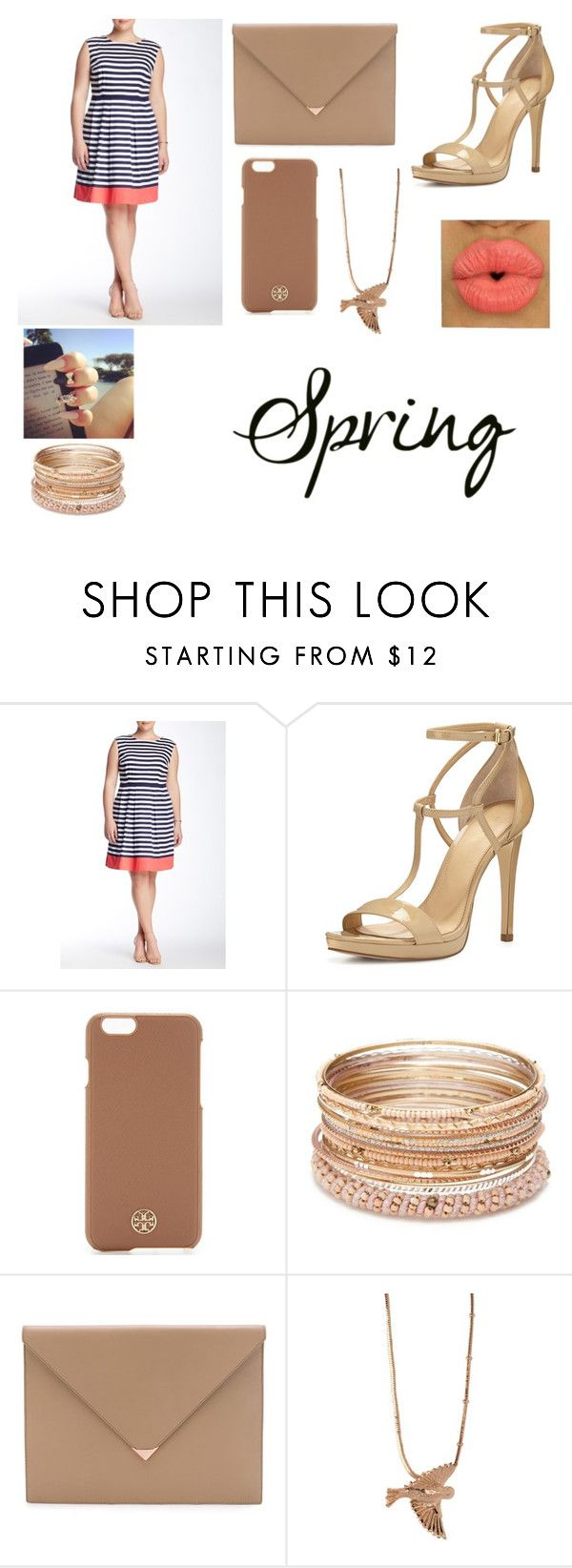 """Big Girls Rock"" by divalover109 ❤ liked on Polyvore featuring Sandra Darren, MICHAEL Michael Kors, Tory Burch, Red Camel, Alexander Wang, PP From Longwy and plus size dresses"