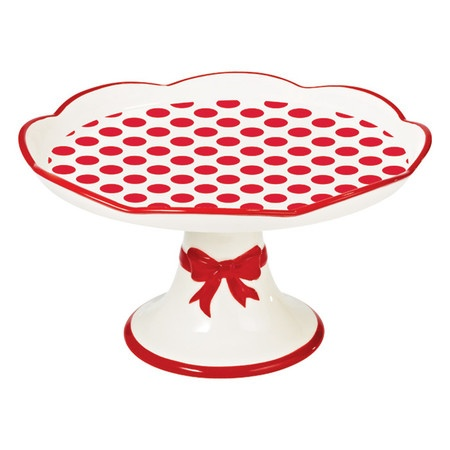 I pinned this Large Red Lollipop Cake Plate from the Jessie Steele event at Joss and Main!
