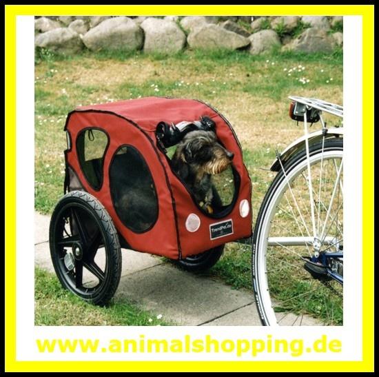 Marken-Hundeanhänger TrendPet-move S für kleine Hunde
