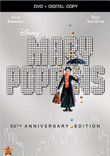 Mary Poppins: 50th Anniversary Edition (DVD + Digital Copy) Walt Disney Studios Home Entertainment http://smile.amazon.com/dp/B00E9ZATKI/ref=cm_sw_r_pi_dp_k.eIub19DD269