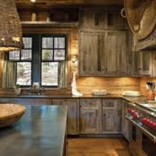 1000 images about barn wood on pinterest rustic kitchen for Modern barn kitchen