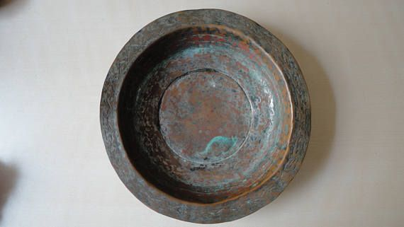 Greek Antique Bronze Plate