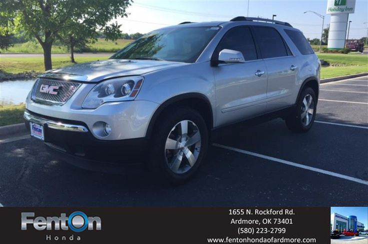 https://flic.kr/p/JzEpdu | This luxurious GMC Arcadia is definitely a ride that stands out from the rest. It is silver with many chrome accents. Not only does it look marvelous from the outside but once you step inside the beautiful leather and many amenities make the cab look like | deliverymaxx.com/DealerReviews.aspx?DealerCode=A687
