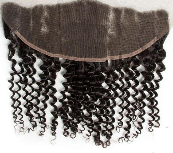 13x4 Ear to Ear Brazilian Virgin Hair Deep Curly Lace Frontal Closure 8A Brazili-02    https://www.sishair.com/