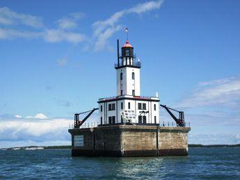 DeTour Reef Light, Drummond Island  Michigan Lighthouses   Pure Michigan