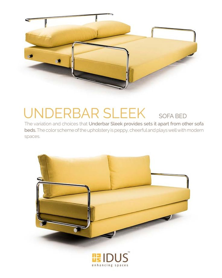 Create your sleeping space depending on your visitors Shop our trendy collections of sofa beds online to cherish a cool luxurious space. Available at IDUS Furniture Store, New Delhi.