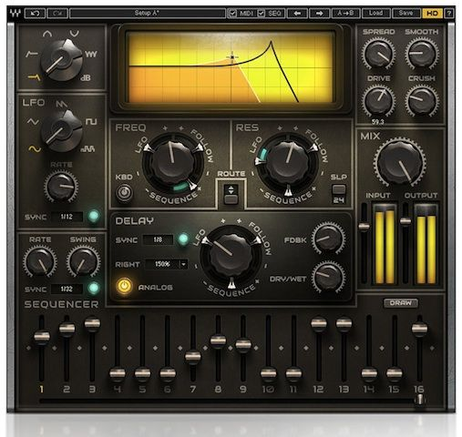 Waves Introduces MetaFilter synth filter plug-in