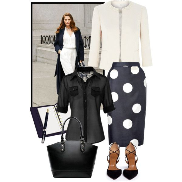 Business woman by milkalilien on Polyvore featuring Jacques Vert, L.K.Bennett and Aquazzura