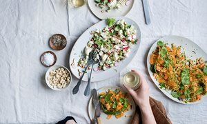 Anna Jones' recipes for two raw vegetable salads | The modern cook | Life and style | The Guardian