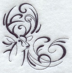 think it would make a cute tatt for a country girl :), but would be so much better if it said southern girl within the swirls
