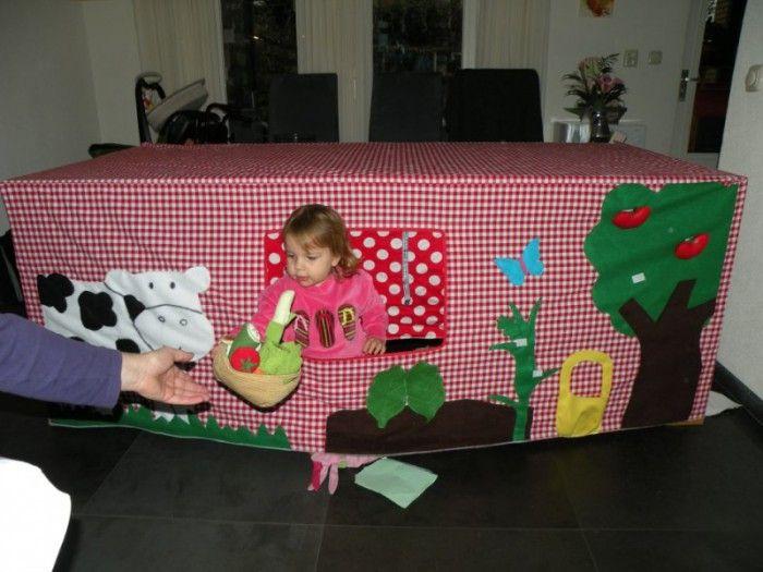 Tischzelt zum Spielen für die kleinen