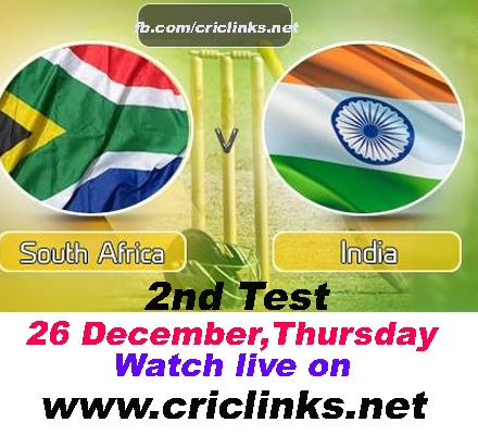 2nd Test between India vs south africa will be played at Durban.After a close finish in 1st Test both Teams are keen to finish on high.just rember this is Last match of great kallis so dont miss action match will be start 2.00 PM IST.1.30 PM PST.watch live action only on http://www.criclinks.net